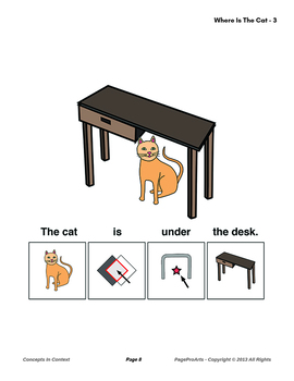 Where Is The Cat - 3 - Concepts In Context
