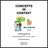 Where Is The Cat - 4 - Concepts In Context