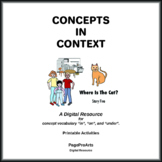 Where Is The Cat - 5 - Concepts In Context