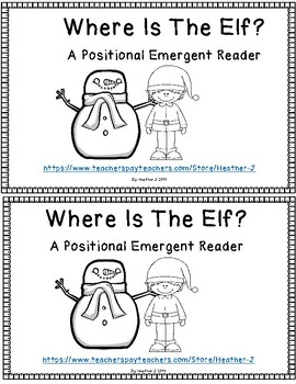 Where Is The Elf?  Positional Emergent Reader