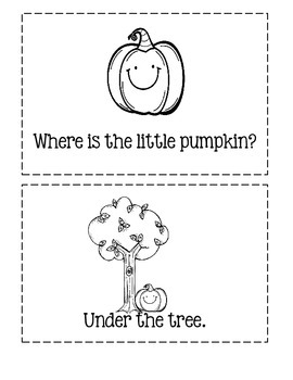 Where Is The Little Pumpkin?