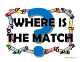 Where Is The Match? (/wh/ digraph)