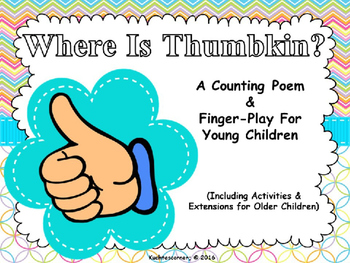 Where Is Thumbkin?: A Counting & FingerPlay Song - PPT Edition