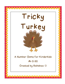 Where Is Tricky Turkey- A Number Task for Kinderkids