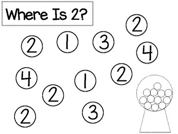 Where Is a?  Where is 2?