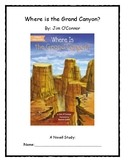Where Is the Grand Canyon? Novel Study