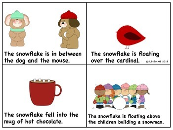 Where Is the Snowflake? Two Mini-books to Develop Language {FREEBIE}