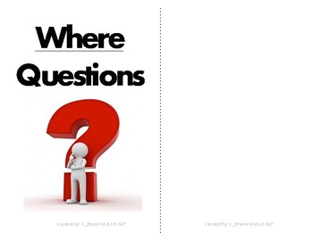Where Question Flipbook
