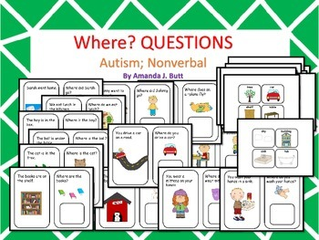 Where Questions; Autism; Special Education; Special Needs;