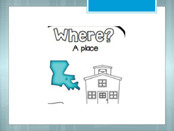 Where Questions Mini Lesson and Independent Practice