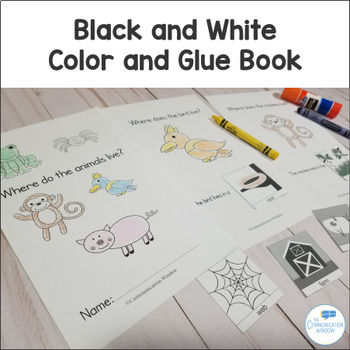 Where Questions - Preschool and Autism Adapted Book and Activities - Animals