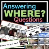 Where Questions (Intraverbals) (REAL pictures)