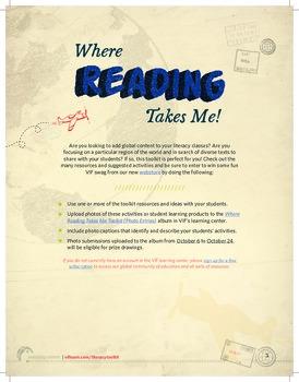 Where Reading Takes Me: Literacy Toolkit