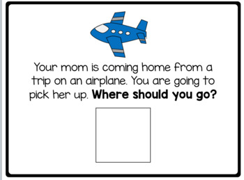 Where Should You Go? Adapted Book for Children with Autism