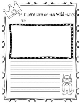 Where the Wild Things Are' Colourig Sheets | Free Early Years ...