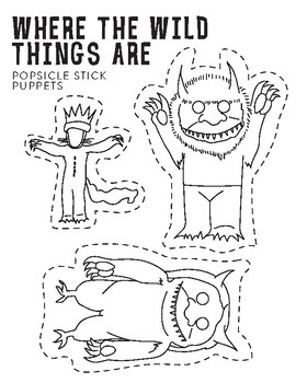 Where The Wild Things Are Puppets