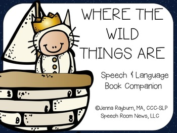 Where The Wild Things Are: Speech & Language Book Companion