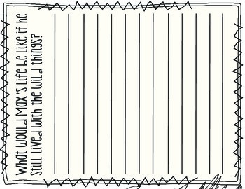Where The Wild Things Are: Story Activity Pack