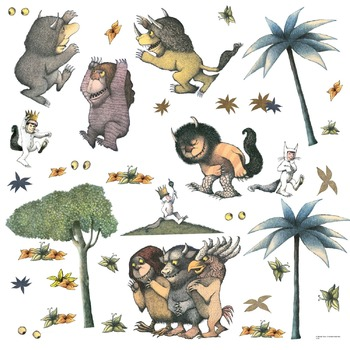 Where The Wild Things Are Story Board Pieces