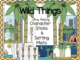 Where The Wild Things Are {Story Retelling Character Stick