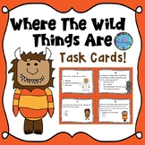 Where The Wild Things Are Activities - Task Cards