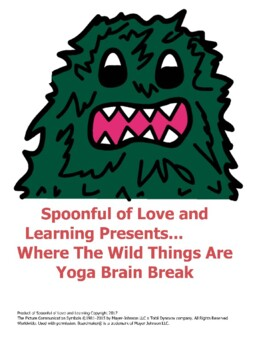 Where The Wild Things Are Yoga Brain Break