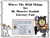 Where The Wild Things Are by Maurice Sendak Literary Unit