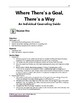 Where There's a Goal, There's a Way: Individual Counseling Guide