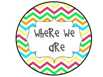 Where We Are Bright Chevron