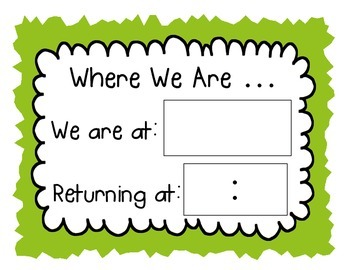 Where We Are Now Signs (Set of 5 different signs)