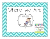 Where We Are Poster Set