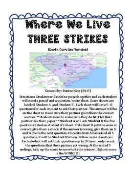 Where We Live  3 STRIKES