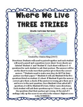 Where We Live  3 STRIKES