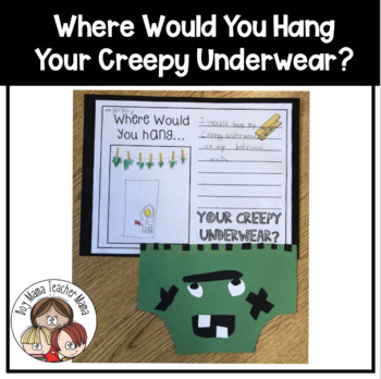 Where Will You Hang Your Creepy Pair of Underwear?