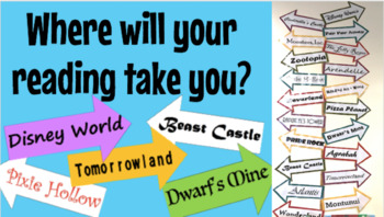 Where Will Your Reading Take You- Disney Version