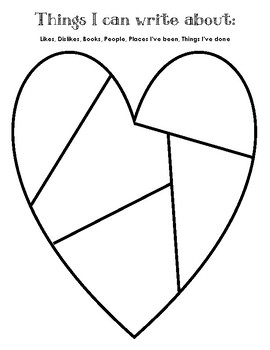 Where Writers Get Ideas (Heart)