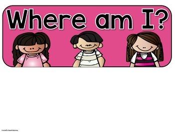 Where am I? {Clip Chart}
