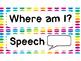 Where am I? Clip chart