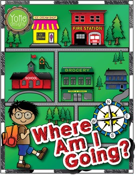 Where am I Going? Map Skills Lesson