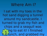 Where am I? Inferences interactive quiz game