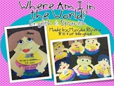 Where am I in the world?... A Map Activity (English & Spanish)