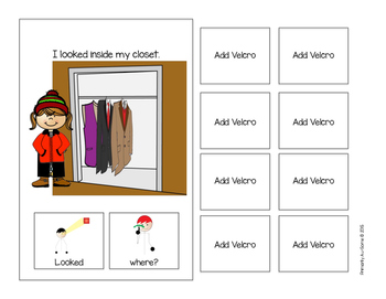 Where are my Mittens?   (An Adapted Book with Preposition)