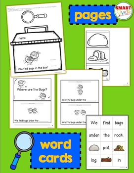 Where are the Bugs? {Interactive High-Frequency Words Book}