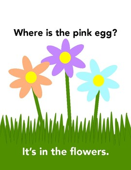 Where are the Eggs? An interactive adapted book.