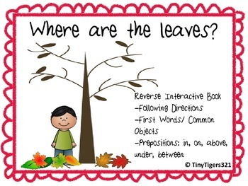 Where are the Leaves? Reverse Interactive Book