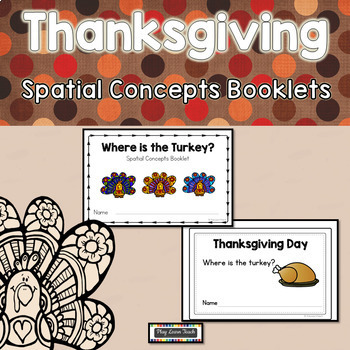 Turkey Emergent Readers Prepositions Spatial Concepts