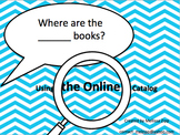 Where are the blank books Online Catalog