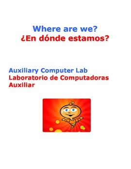 Where are we? Bilingual Door Signs