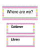 Where are we - Chevron Editable