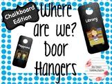 Door Hangers- Chalkboard Edition